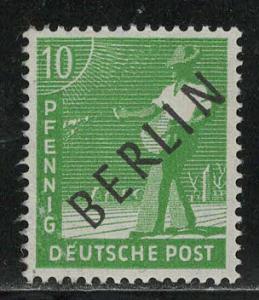 Germany Berlin Scott # 9N4, mint nh