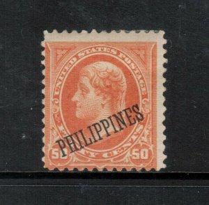 Philippines #212 Fine Mint Original Gum Hinged