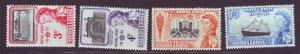 J22695 Jlstamps 1961 sierra leone set mnh #221-4 queen