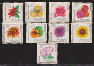 POLAND Flowers On Stamps - Cancelled