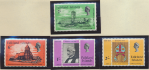 Falkland Islands Stamps Scott #184 To 187, Mint Never Hinged - Free U.S. Ship...