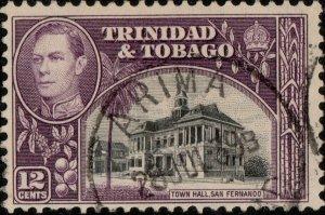 TRINIDAD & TOBAGO - 1939 (Jul 28) - ARIMA/TRINIDAD CDS on SG252 - Ref.833f