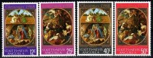 St  Kitts-Nevis #191-4  MNH