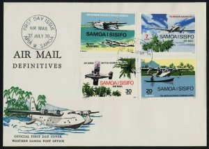 Samoa C3-6 on FDC - Aircraft, Flying Boat
