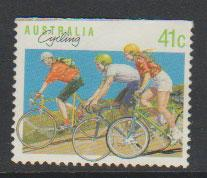 Australia SG 1180a  FU - from booklet top  imperf -  Aust...