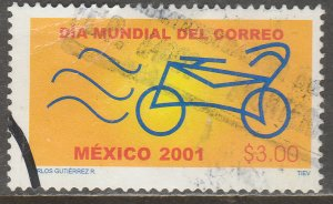 MEXICO 2240, WORLD POST DAY  USED. VF. (907)