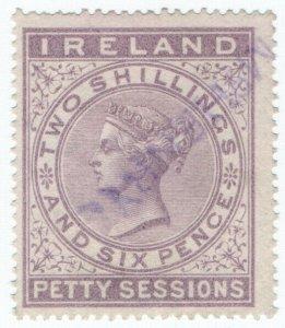 (I.B) QV Revenue : Ireland Petty Sessions 2/6d