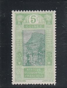 French Guinea  Scott#  66  MH  (1913 Ford at Kitim)