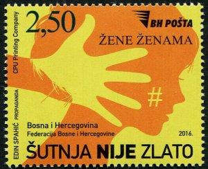 HERRICKSTAMP NEW ISSUES BOSNIA & HERZEGOVINA Sc.# 771 Protection for Women