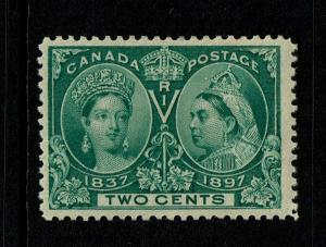 Canada SC# 52, Mint Hinged, Hinge Remnant - S6777