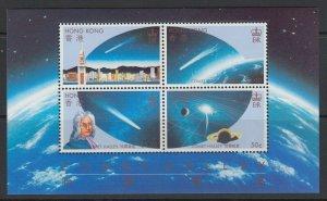 Hong Kong, Sc 464a, MNH souvenir sheet