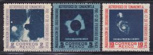 Mexico Scott # 774-776 VF-OG lightly hinged nice colors scv $ 40 ! see pic !