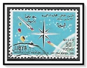 Libya #278 Meteorological Day Used