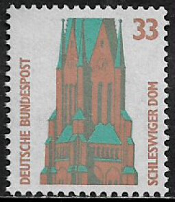 Germany #1519 MNH Stamp - Schleswig Cathedral