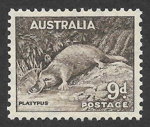 Doyle's_Stamps: Australian Scott #174a* 1938   9-Pence Issue