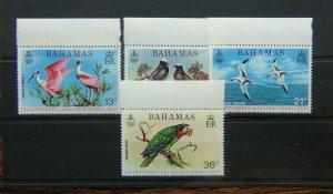 Bahamas 1974 15th Anniversary of Bahamas National Trust set MNH