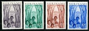 Suriname Stamps # B58-61 NH Used OG Scott Value $24.00