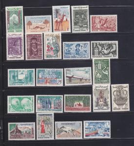 Tunisia 338-342, 344-346, 348-350, 352-363A MNH Various