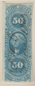U.S. Scott #R60a Revenue Stamp - Used Single