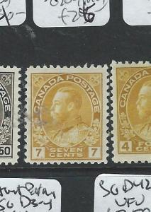 CANADA (P2407B) KGV ADMIRAL 7C  SG 209  MOG