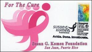 19-221, 2019, Susan G Komen Foundation, Pictorial Postmark, Event Cover, San Jua
