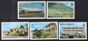 Montserrat 1036-1040 MNH VF