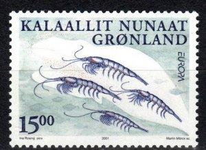 Greenland #386  MNH CV $4.75 (X1098)