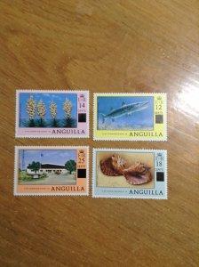 Anguilla  # 337-40  MNH