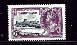 Basutoland 14 MLH 1935 KGV Silver Jubilee   (RR)