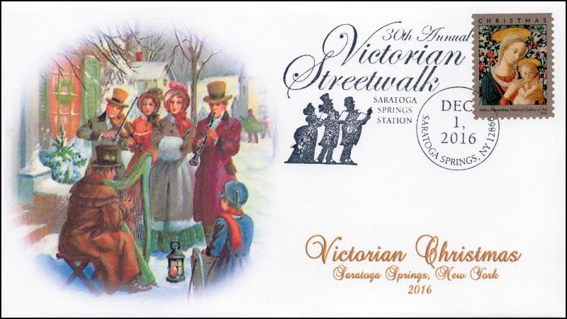 2016, Victorian Streetwalk, Saratoga Springs NY, Christmas, Pictorial, 16-364