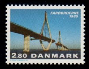 Denmark Sc 776 1985 Faro Bridges stamp mint NH