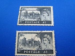GREAT BRITAIN  -  SCOTT # 312    USED   (gg)