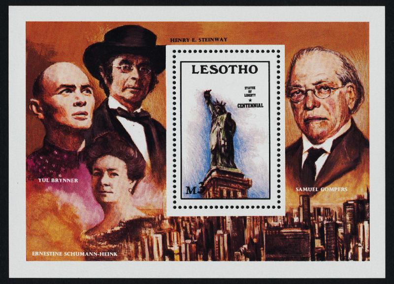 Lesotho 539 MNH Statue of Liberty