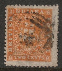 British Guiana 1863 Sc 46a used