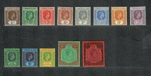 Leeward Islands Sc#103-115 M/H/VF, 105b 108a 112a, Cv. $178.60