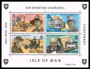 Isle of Man #51a Sir Winston Churchill Centenary; MNH (1.40)