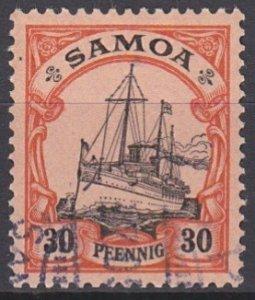Samoa 62 used (1900)
