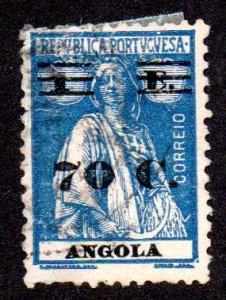 ANGOLA 238 USED SCV $3.00 BIN $1.20 PERSON