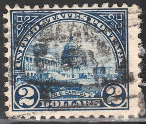 U.S. 572, $2 CAPITOL, USED F-VF. (5)