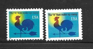 #3257-58 MNH Single (my5)