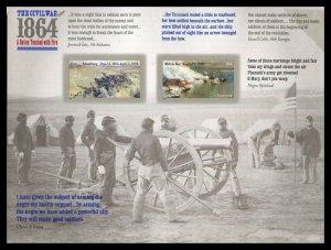 4910 - 4911 Civil War 1864 Forever Sheet of 12 Stamps MNH