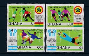 [46404] Ghana 1978 Sports World Cup Soccer Football Ovp Argentina wins MNH