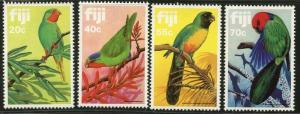 FIJI Sc#481-484 1983 Parrots Complete Set Mint OG NH