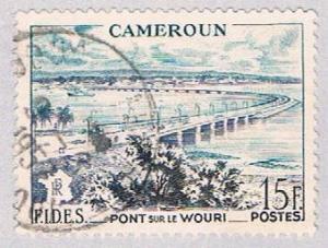 Cameroun 327 Used Wouri Bridge 1956 (BP2771)