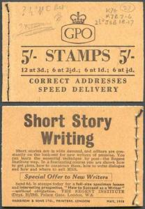 H34 May 1958 5/- Booklet