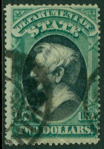 USA : 1873. Scott #O68 Very RARE Used. Small faults. PSAG Cert. Catalog $3,000.