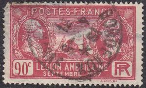 France 243 LaFayette,Washington, S.S Paris and Airplane 1927