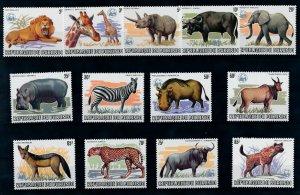[I1866] Burundi 1983 WWF Fauna good set of stamps very fine MNH $1250