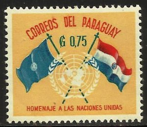 Paraguay 1960 Scott# 570 MH
