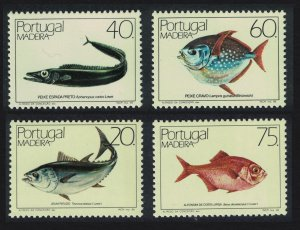 Madeira Fish 4v Joint set SG#216=223 SC#102-103